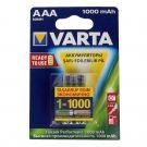 """Аккумулятор AAA """"Varta"""" 1000 mAh 1.2v"""