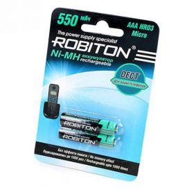 "Аккумулятор AAA ""Robiton"" 550 mAh 1.2v"