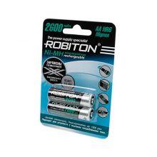 """Аккумулятор AA """"Robiton"""" 2600 mAh 1.2v"""
