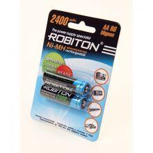 """Аккумулятор AA """"Robiton"""" 2400 mAh 1.2v"""