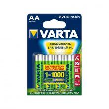"""Аккумулятор AA """"Varta"""" 2700 mAh 1.2v"""