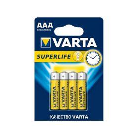 "Солевая батарейка ААА/R03 ""Varta"" 1.5v 4 шт"