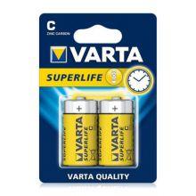 "Солевая батарейка C/R14 ""Varta"" 1.5v 2 шт"